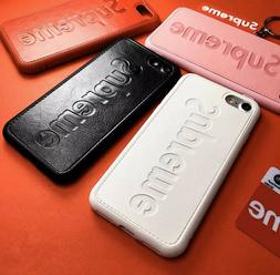 Soft TPU Stylish Case for iPhone Hypebeast SUP Off-White