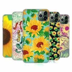 HEAD CASE DESIGNS SUNFLOWER SOFT GEL CASE FOR APPLE iPHONE P