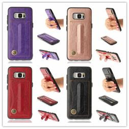 Synthetic Leather Wallet Card Stand Case Shockproof Cover Sa