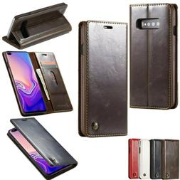 Synthetic Leather Wallet Case Flip Stand Cover For Samsung G