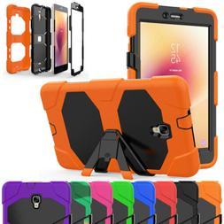 Tablet Armor Case + Screen Protector For Samsung Galaxy Tab