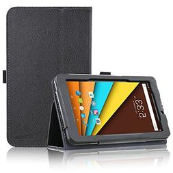 Tagital 7 Phone Tablet Case, ACdream Folio Leather Tablet Ca