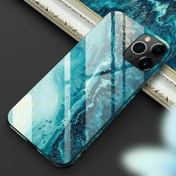 Tempered Glass Phone Case For iPhone 11 Pro Max/Xs/Xr 8 7 Co