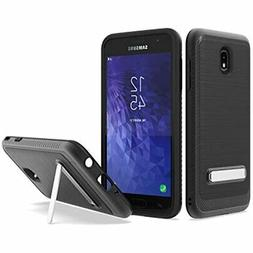 UNC Pro 2 In 1 Cell Phone Case W/ Kickstand For Samsung Gala