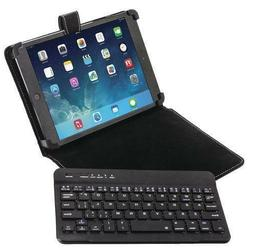 "UNIVERSAL TABLET CASE / BLUETOOTH KEYBOARD Fits All 7"" TO 10"