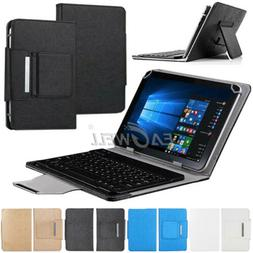 "For Android 7"" 8"" 10"" 10.1"" inch Tablet PC Universal Leather"