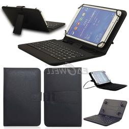 USB Keyboard Case Cover For Amazon Kindle Fire HD 8 Verizon