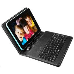 """USB Keyboard Leather Case Cover Stand For 8"""" 9"""" 10"""" 7.9"""" 9."""