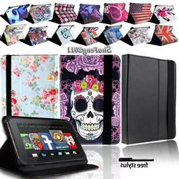 For Various Amazon Kindle Fire 7 inch Tablet FOLIO LEATHER S
