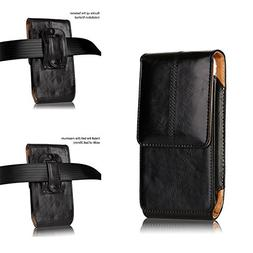 kiwitatá Vertical Premium Leather Belt Clip Holster Case Po