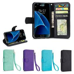 IZENGATE Wallet Flip Case Synthetic Leather Cover Folio for