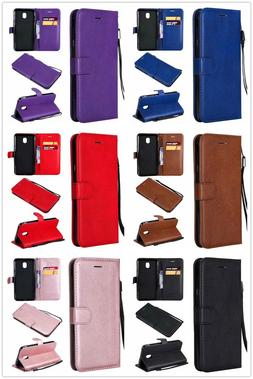 wallet Leather case cover for Samsung Galaxy J7 Refine / Sta