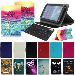 For Walmart Onn Surf Tablet 7-in Universal Leather Case Cove