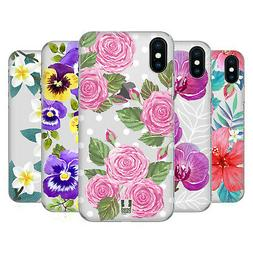 HEAD CASE DESIGNS WATERCOLOUR FLOWERS 2 HARD BACK CASE FOR A