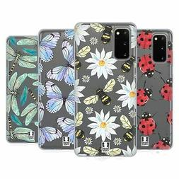 HEAD CASE DESIGNS WATERCOLOUR INSECTS GEL CASE FOR SAMSUNG P