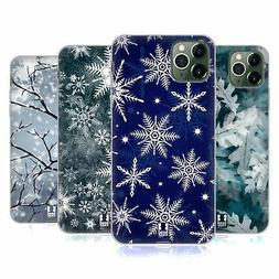 HEAD CASE DESIGNS WINTER PRINTS SOFT GEL CASE FOR APPLE iPHO