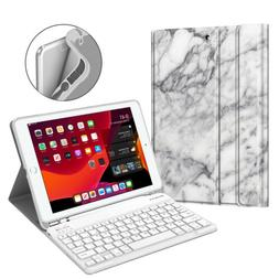 "Wireless Bluetooth Keyboard Folio Case Stand for 10.2"" iPad"