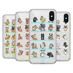 HEAD CASE DESIGNS YOGA ANIMALS SOFT GEL CASE FOR APPLE iPHON